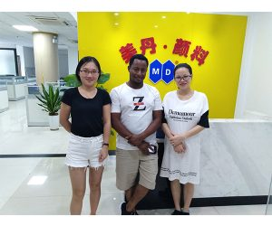 Welcome The Client of SerbiaVisit Mei Dan Office