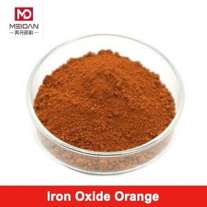 Orange Iron Oxide for Coloring Paving